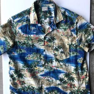 Jcrew Cotton Island Short Sleeve Shirt